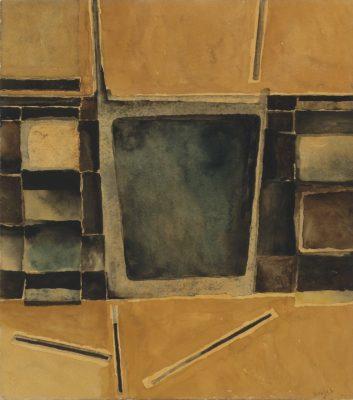 Alan Reynolds (1926-2014)Abstract -