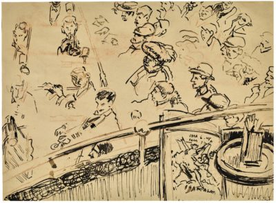 Walter Richard Sickert, RA (1860-1942)The Old Mogul Tavern, Drury Lane -