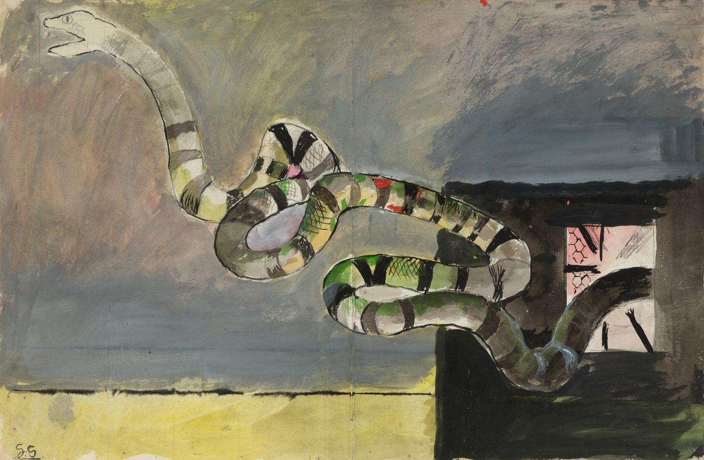 Graham Sutherland, OM (1903-1980), Le Serpent
