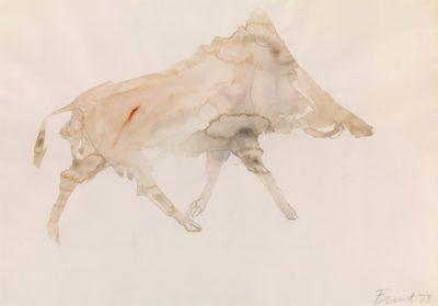 Dame Elisabeth Frink, CH RA (1930-1993)Boar -