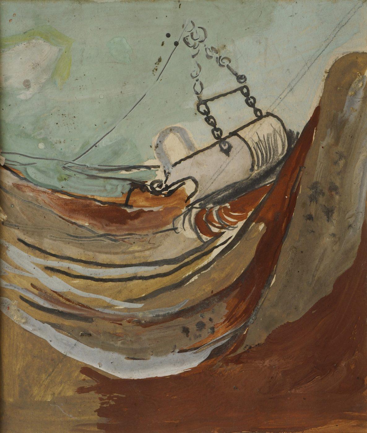 Graham Sutherland, OM (1903-1980), Dragline Bucket Excavating Overburden