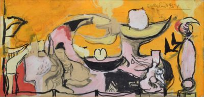 Graham Sutherland, OM (1903-1980)Study for The Origins of The Land -