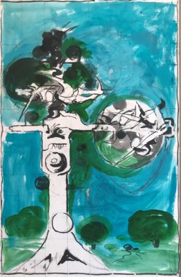 Graham Sutherland, OM (1903-1980)Thorn Tree -