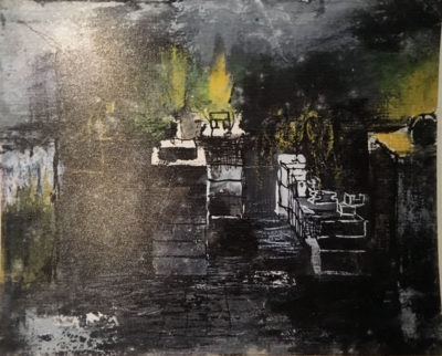 Graham Sutherland, OM (1903-1980)Moulds, Foundry at Cardiff -