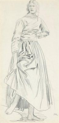 Augustus John, OM RA (1878-1961)Edith Lees (Lyndra) -