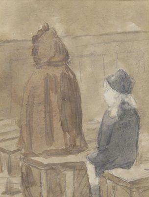 Gwen John (1876-1939)In Church -