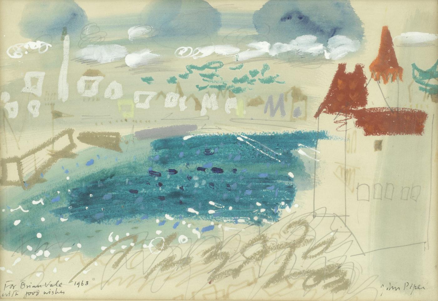 John Piper, CH (1903-1992), Turpault Castle, Quiberon