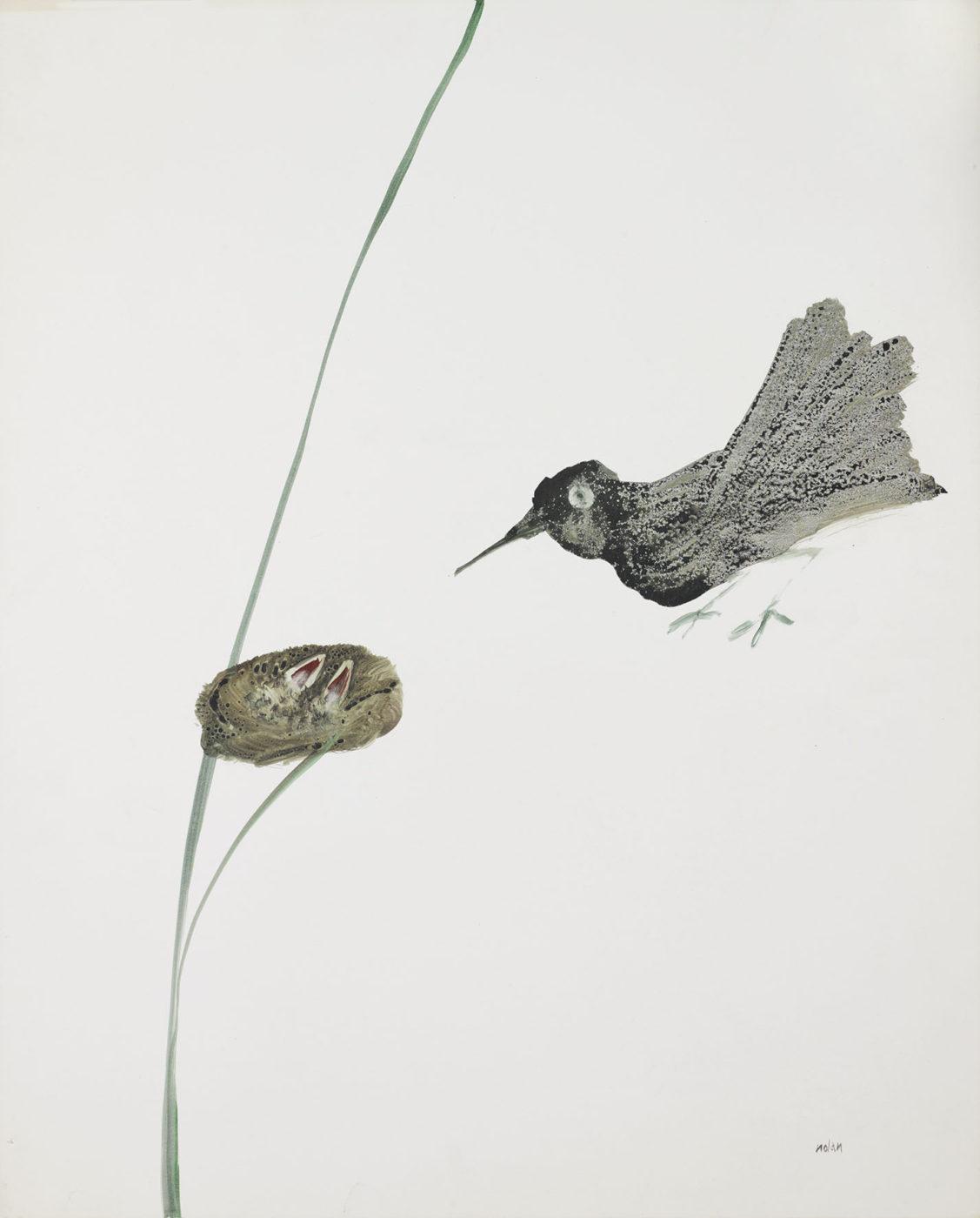Sir Sidney Nolan, OM AC RA (1917-1992), Bird and Nest