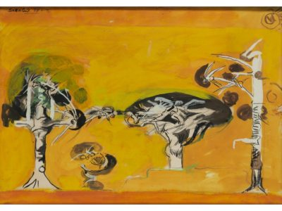 Graham Sutherland, OM (1903-1980)Thorn Trees -
