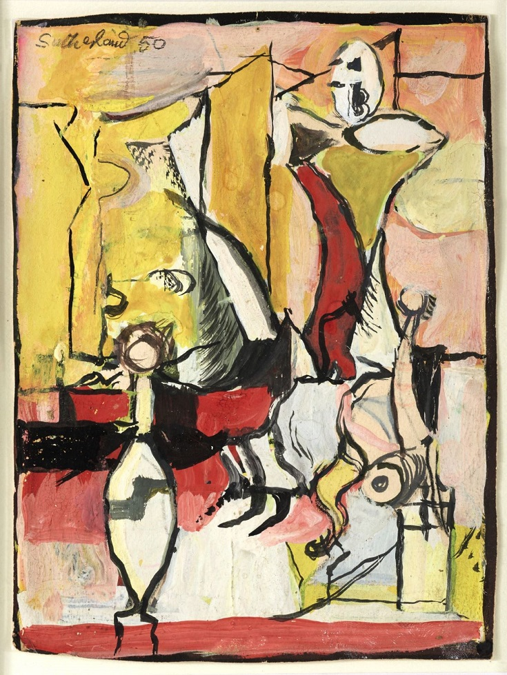 Graham Sutherland, OM (1903-1980), Study For The Origins of The Land