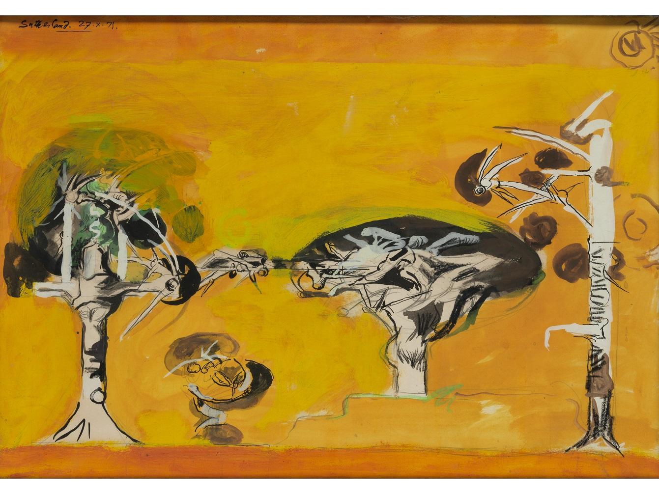 Graham Sutherland, OM (1903-1980), Thorn Trees