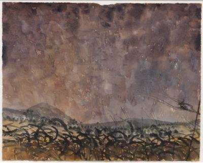 Alan Reynolds (1926-2014)Landscape with a Thorn Hedge -