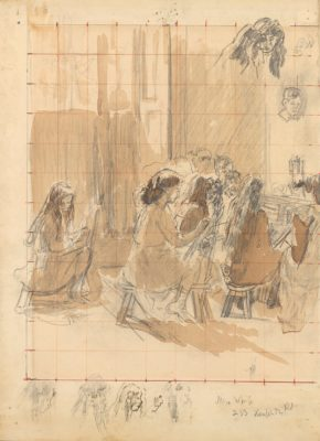 Walter Richard Sickert, RA (1860-1942)The Drawing Class -