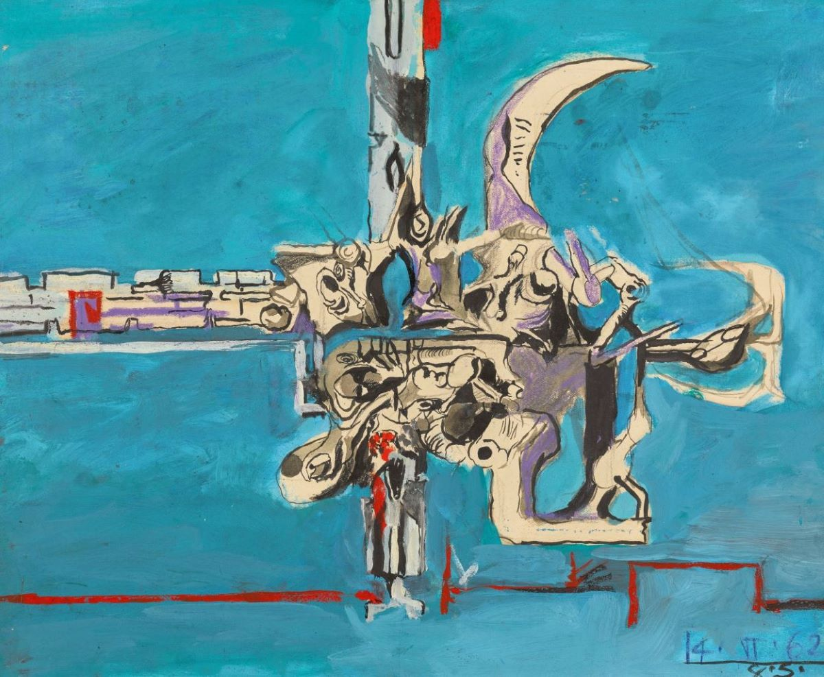 Graham Sutherland, OM (1903-1980), Study for 'The Bow'
