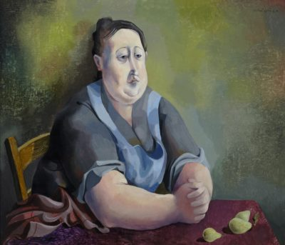 Michael Ayrton (1921-1975)Portrait with Pears -