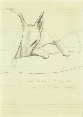 David Hockney, OM CH RA (b. 1937)Little Audrey -