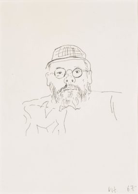 David Hockney, OM CH RA (b. 1937)Portrait of Henry Geldzahler -
