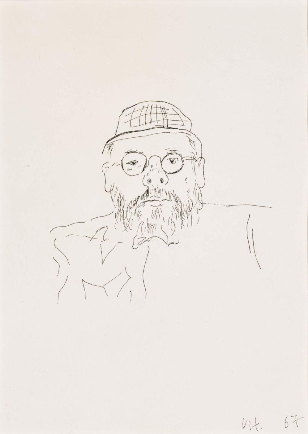 David Hockney, OM CH RA (b. 1937), Portrait of Henry Geldzahler