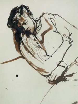 John Minton (1917-1957)Kevin Maybury asleep -