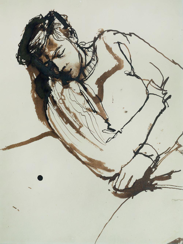 John Minton (1917-1957), Kevin Maybury asleep
