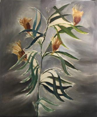Sir Sidney Nolan, OM AC RA (1917-1992)Plant Study -