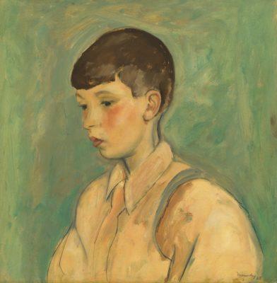 Bernard Meninsky (1891-1950)Portrait of a Boy -
