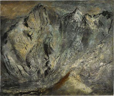 John Piper, CH (1903-1992)The Slopes of Glyder-Fawr, Llyn Idwal, Caernarvonshire -